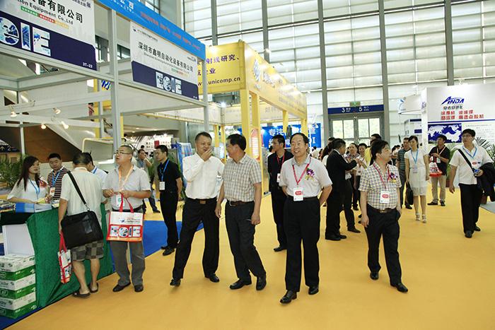 2014中国电子装备产业博览会领导参观现场 (12)